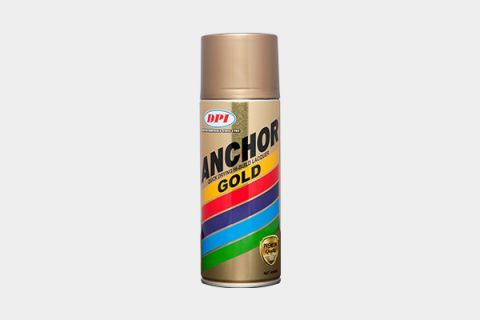 DPI Sendirian Berhad - Products - Aerosol Spray Paint - Anchor Gold
