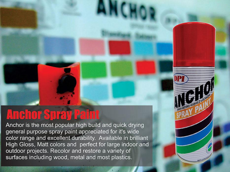 Aerosol Spray Paint | DPI Sendirian Berhad | Muar Aerosol