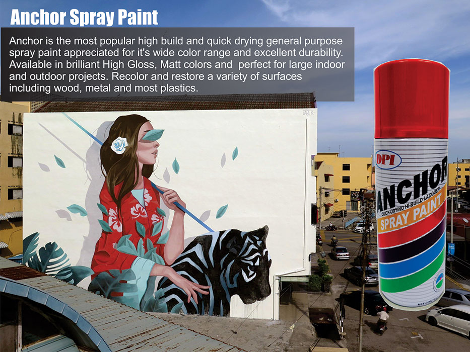Aerosol Spray Paint Dpi Sendirian Berhad Muar Aerosol Spray