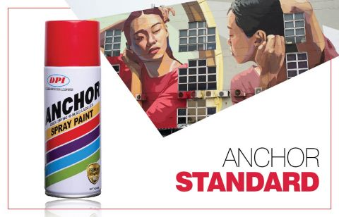 DPI Sendirian Berhad - Products - Aerosol Spray Paint - Anchor Standard