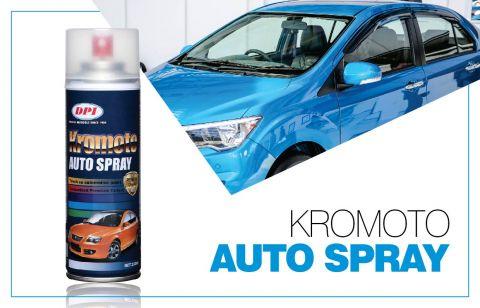 DPI Sendirian Berhad - Products - Aerosol Spray Paint - Kromoto Auto