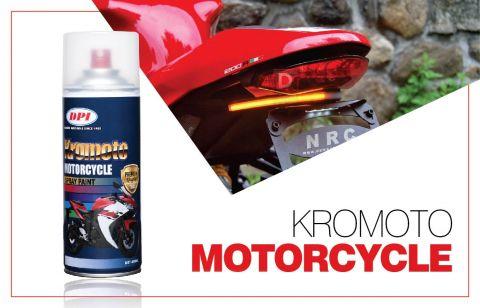 DPI Sendirian Berhad - Products - Aerosol Spray Paint - Kromoto Motorcycle
